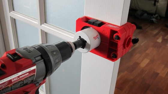 How To Drill Door Lockset Holes Ask The Builder