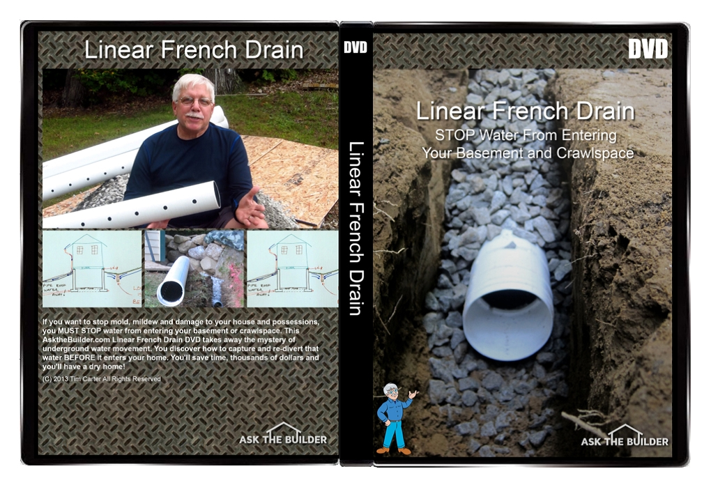 Linear French Drain Video Series Dvd