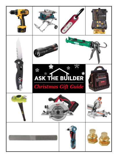 Ask the Builder Christmas Gift Guide 2011