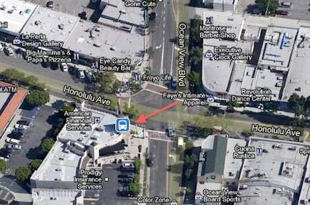 satellite image part of Los Angeles