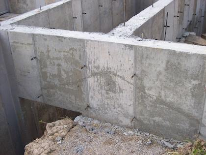 July 2 2013 askthebuilder newsletter tips ask the builder for Poured concrete basement walls
