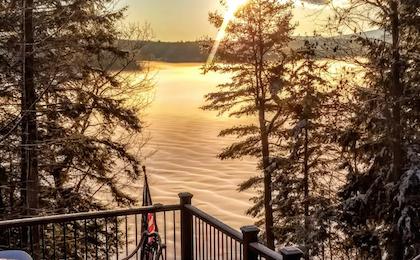 sunrise lake winniquasm nh