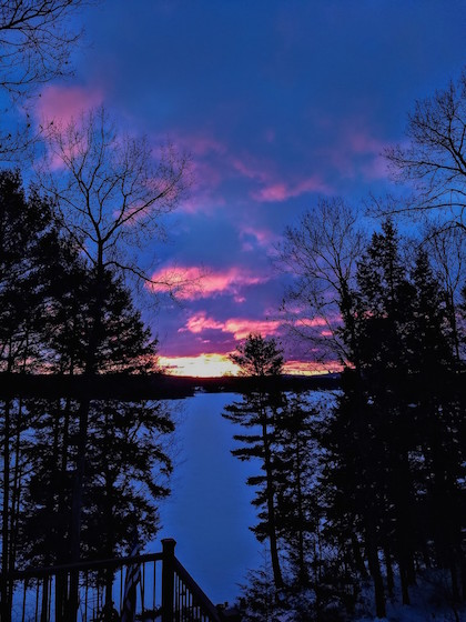 Lake Winnisquam Sunrise