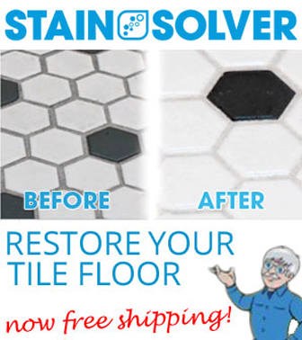 Restore your dirty grout