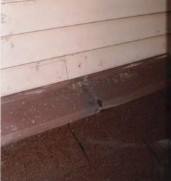 metal roof flashings sill flashing