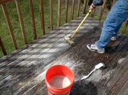 Cleaning Wood Decks Is No Diffe If You Want Excellent Results Have To Do Some Work But It Not That Hard