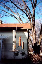 Wire Bird Feeder System Vs Squirrels Ask The Builder