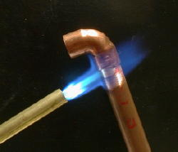 Soldering copper is not as hard as you might think.
