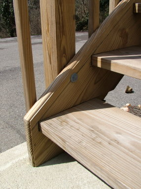 Deck Railing Post - Ask the Builder