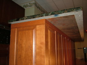 This Wall Embly Has Two Things That Ensure It Is Strong And The Countertop Will Not