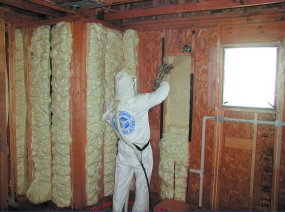 Foam insulation ask the builder foam insulation fills every nook and cranny in a wall it is typically installed by solutioingenieria Images