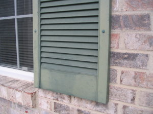 Painting vinyl shutters ask the builder - Best spray paint for exterior shutters ...