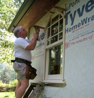 Installing new windows does not guarantee that your condensation problems will disappear. PHOTO CREDIT: Kathy Carter