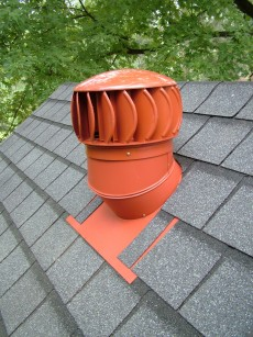 This turbine vent spins with just the slightest breeze. It is but one tool to use when you want superior attic ventilation. PHOTO CREDIT: Tim Carter