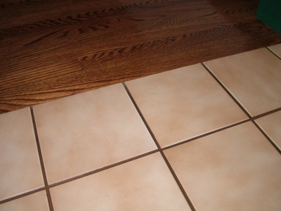 Paint A Ceramic Tile Floor Like This The Key Is Using The Right Paint