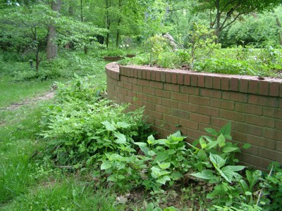 This retaining wall was built with lots of care and skill. It is still perfect after 20 years of harsh weather.  PHOTO CREDIT: Tim Carter