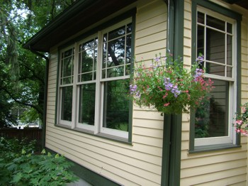 Old windows can be found in thousands of places, even newer homes! PHOTO CREDIT:  Tim Carter