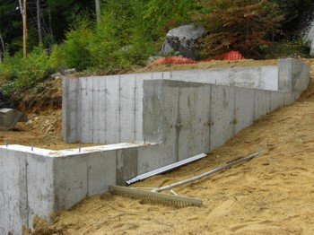 This concrete foundation should last for hundreds of years, if not longer. PHOTO CREDIT:  Tim Carter
