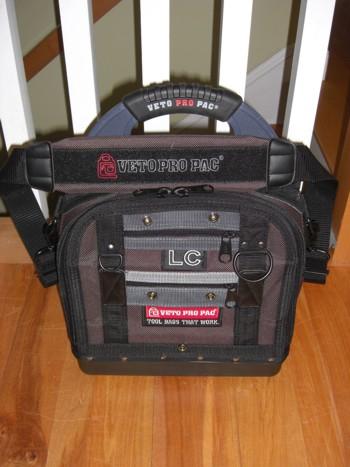 Elevator mechanic tool bag