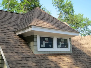 This roof dormer was built in a couple of days. It takes some serious carpentry skills to do this. PHOTO CREDIT:  Tim Carter
