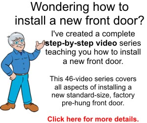 How to Install a New Front Door