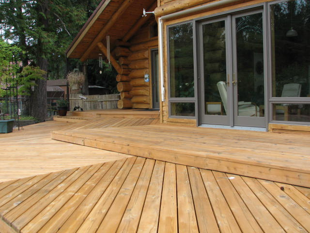 Ron's Deck After
