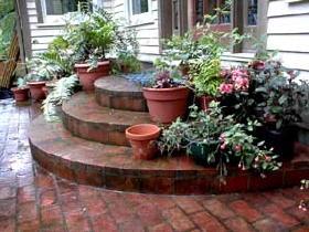 patio designs - Patio Steps Ideas