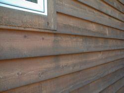Natural Wood Siding Needs Tlc