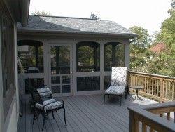 screened porch on Add On Patio Ideas id=57822