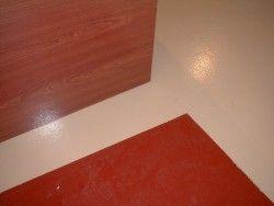 painting floor