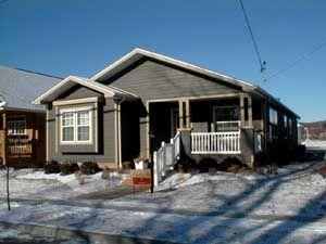 pre-built home