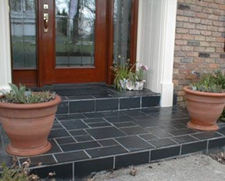 Slate Porch