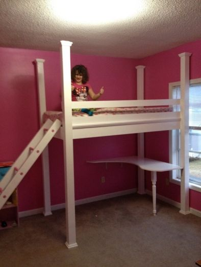 Loft Bed by Sarah F. Using AsktheBuilder Plans | Ask the ...