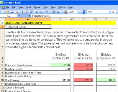 estimating products worksheets